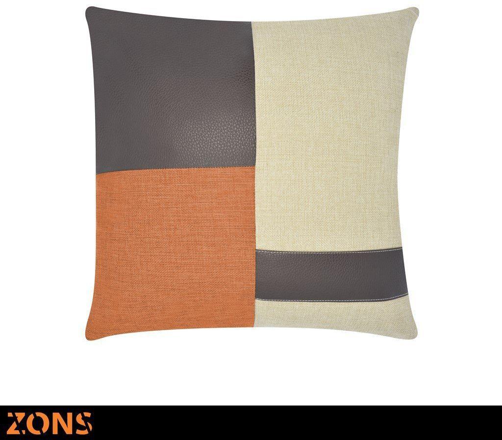 Poduszka 45 x 45 cm 6 kolorów wypełnienie 480 g pomarańczowy
