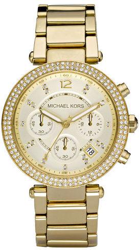Michael Kors Zegarek Parker MK5354 Złoty