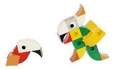 Klocki GIGO - World Life - Papuga