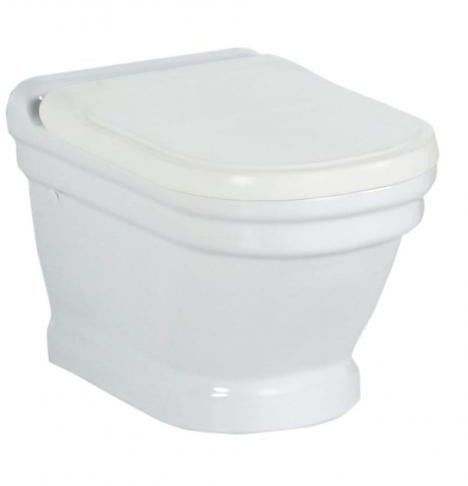 ANTIK Miska WC ceramiczna podwieszana 36x53cm AN320