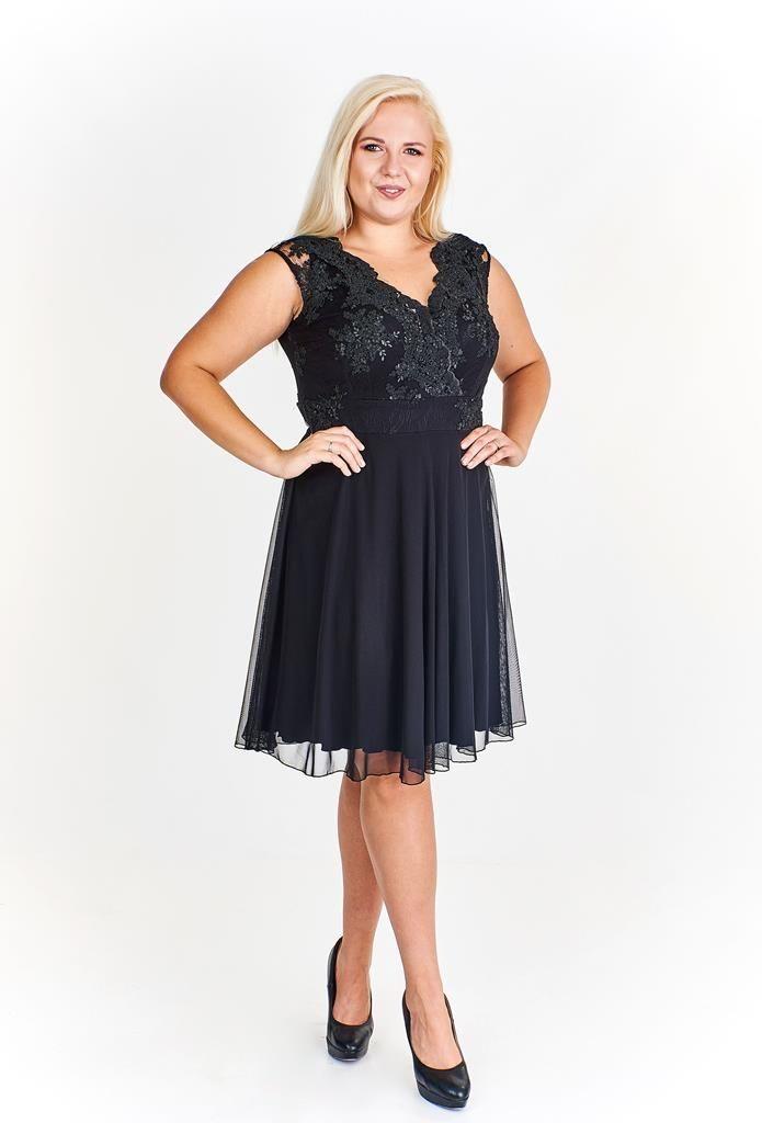Sukienka FSU935 GRANATOWY