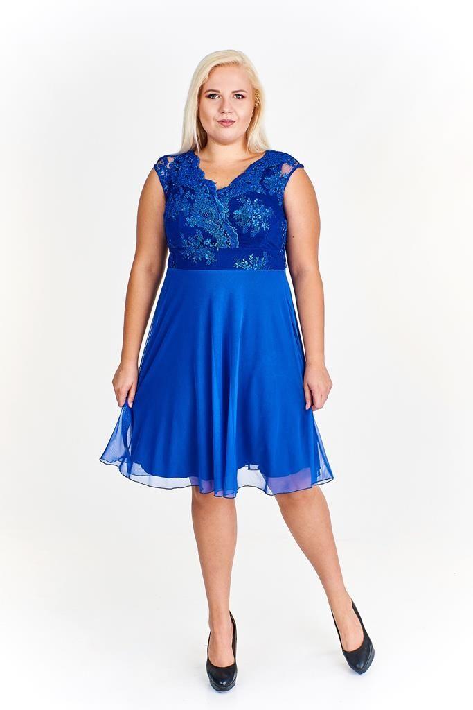 Sukienka FSU935 CHABROWY