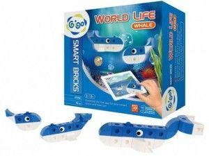 Klocki GIGO - World Life - Wieloryb