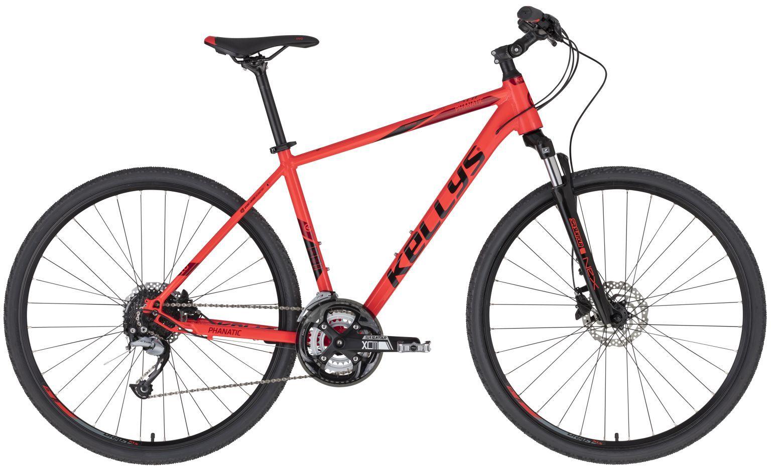 """Rower Kellys PHANATIC 10 RED 28"""" 2021"""