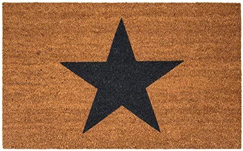 Maine Furniture Co, brązowa, gwiazda wycieraczka-55 x 90 cm
