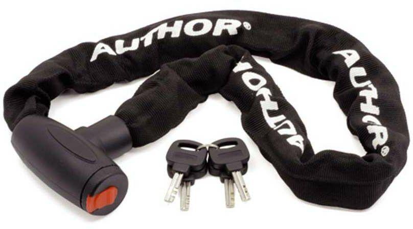 Zamknięcie łańcuch AUTHOR ACHL-55 90cm czarne
