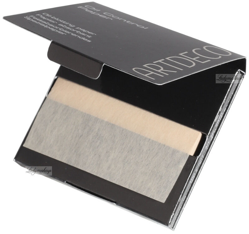 ARTDECO - Oil Control Paper - Bibułki matujące - 59700