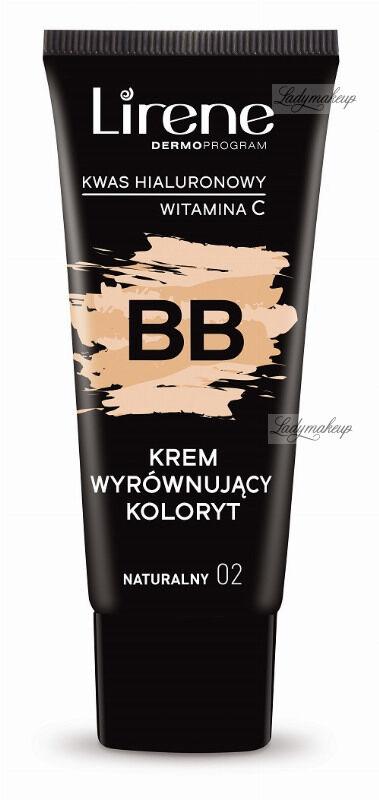 Lirene - BB - Krem wyrównujący koloryt - 30 ml - 02 - NATURALNY