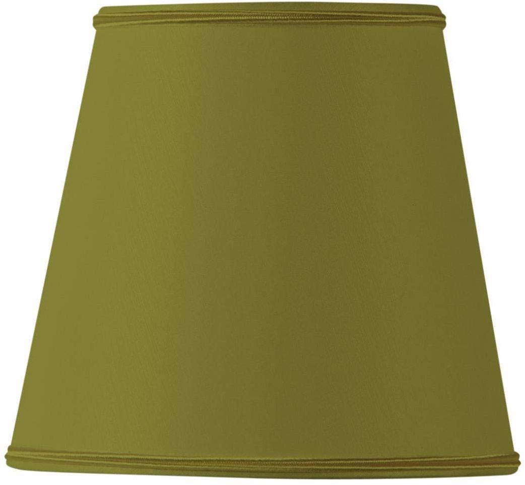 Klips do klosza lampy o średnicy 15 x 10 x 14 cm zielony brąz