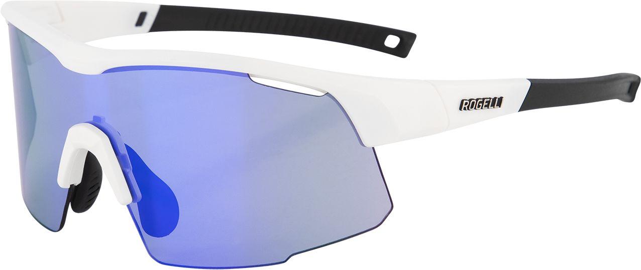 ROGELLI okulary sportowe z wymiennymi szkłami PULSE białe ,8717849057165