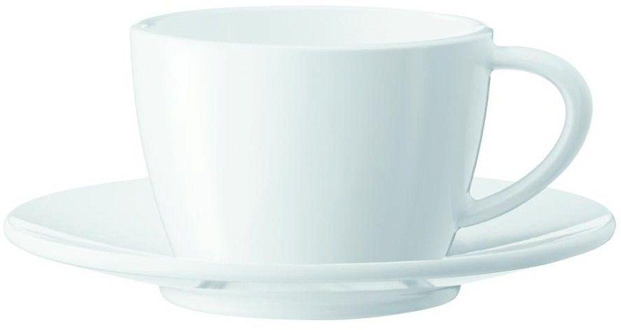 Zestaw dwóch porcelanowych filiżanek i spodków do cappuccino Jura (66501) --- OFICJALNY SKLEP Jura