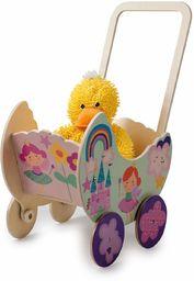 Dida GP19P pedagogiczny wózek dla lalek, wózek dziecięcy księżniczka, mały