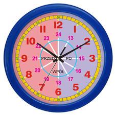 Mój pierwszy zegar kolorowy