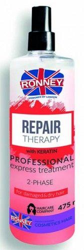 Ronney Repair Therapy dwufazowa mgiełka do włosów zniszczonych, suchych i kruchych 475 ml