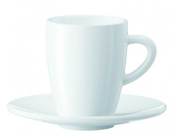 Zestaw 2 porcelanowych filiżanek i spodków do kawy Jura (66499) --- OFICJALNY SKLEP Jura