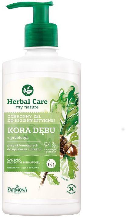 Herbal Care Ochronny żel do higieny intymnej Kora dębu 330ml
