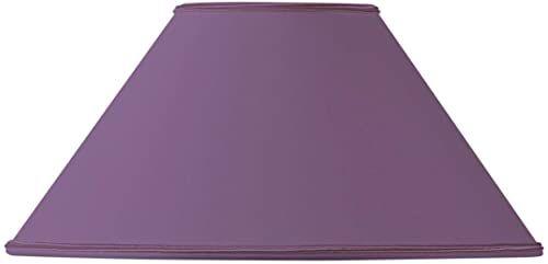Klosz lampy w kształcie retro, 20 x 08 x 12 cm, fioletowy