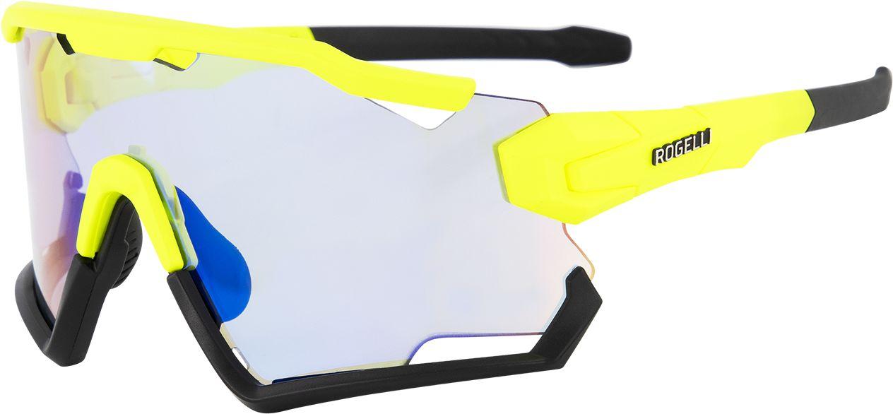 ROGELLI okulary sportowe z wymiennymi szkłami SWITCH żółty fluor,8717849057127