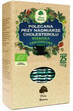 Herbatka polecana przy NADMIARZE CHOLESTEROLU BIO (25 x 1,5 g) Dary Natury