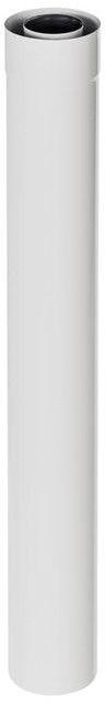 Rura 2-ścienna Spiroflex 60/100 mm biała 1 m