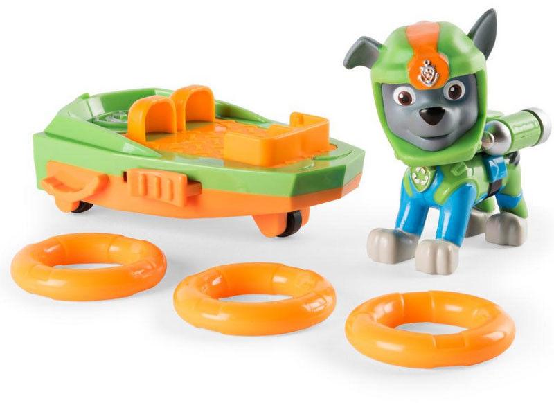 Psi Patrol - Rocky Figurka Akcji wodnej 20093749