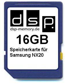 16 GB karta pamięci do Samsung NX20