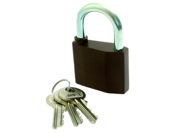 Kłódka LOB znalowa KZ 30 (mały klucz)