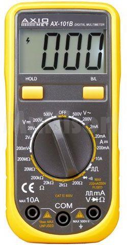Multimetr cyfrowy Axiomet AX-101B LCD (1999)