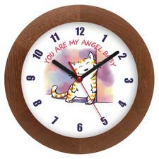 Zegar drewniany solid pieszczoch
