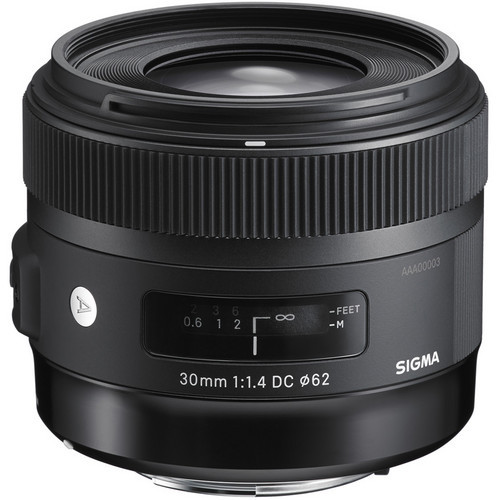 Sigma A 30mm F1.4 DC HSM - obiektyw stałoogniskowy do Nikon F Sigma A 30mm F1.4 DC HSM / Nikon