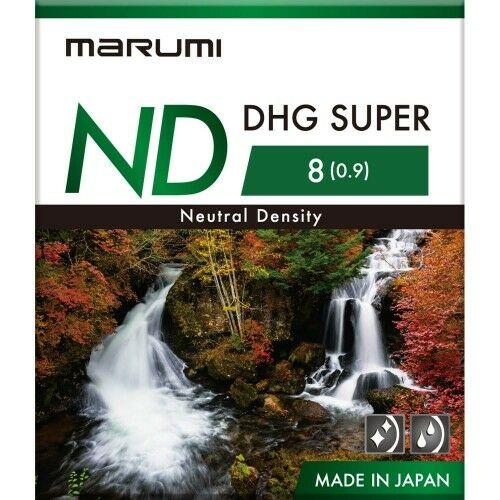 MARUMI Super DHG ND8 Filtr fotograficzny szary 77mm