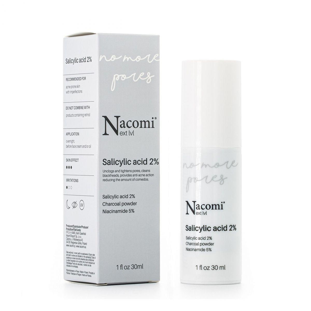 Serum salicylowe 2% - 30ml - Nacomi