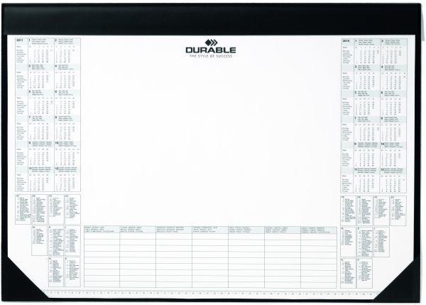 Podkładka z kalendzarzem i notatnikiem- DURABLE - X05424