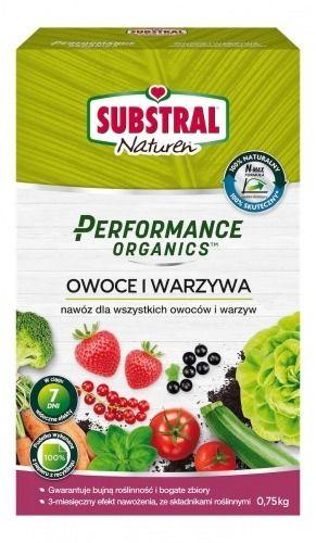 Nawóz do warzyw i owoców  naturalny  0,75 kg substral