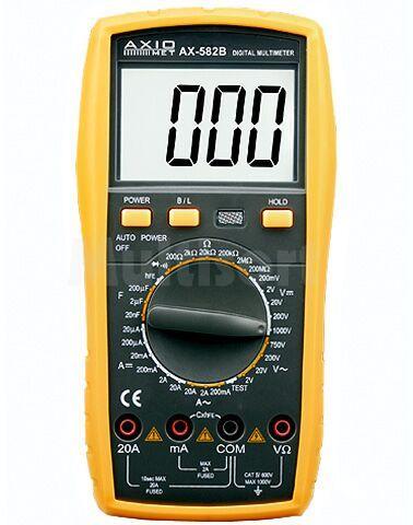 Multimetr cyfrowy Axiomet AX-582B