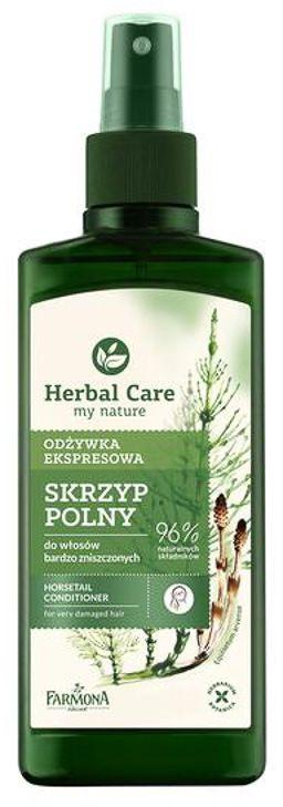 Odżywka ekspresowa do włosów bardzo zniszczonych SKRZYP POLNY HERBAL CARE - 200 ml
