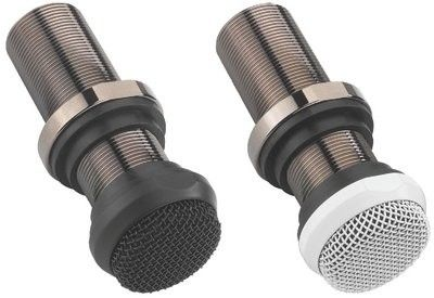 Monacor ECM-10/WS, mikrofony elektretowe, montażowe