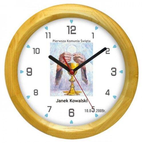 Zegar pamiątka I Komunii #O1