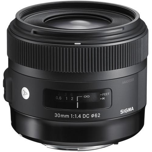 Sigma A 30mm F1.4 DC HSM - obiektyw stałoogniskowy do Canon EF Sigma A 30mm F1.4 DC HSM / Canon