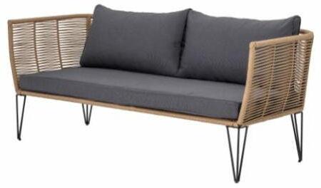 Sofa ogrodowa MUNDO brązowa Bloomingville