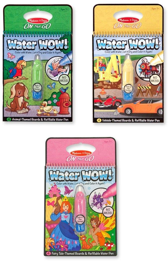 Melissa & Doug 17989 -Malowanki Water Wow! Assortment Obrazy do malowania wodą
