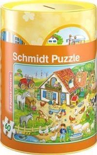 Puzzle - Skarbonka z puzzlami