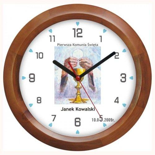 Zegar pamiątka I Komunii #O2