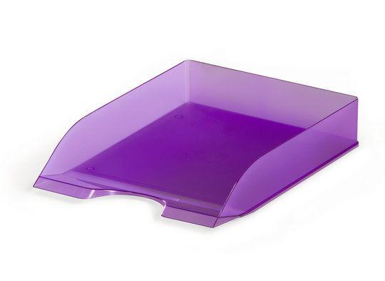 Półka na dokumenty w transparentnych kolorach DURABLE
