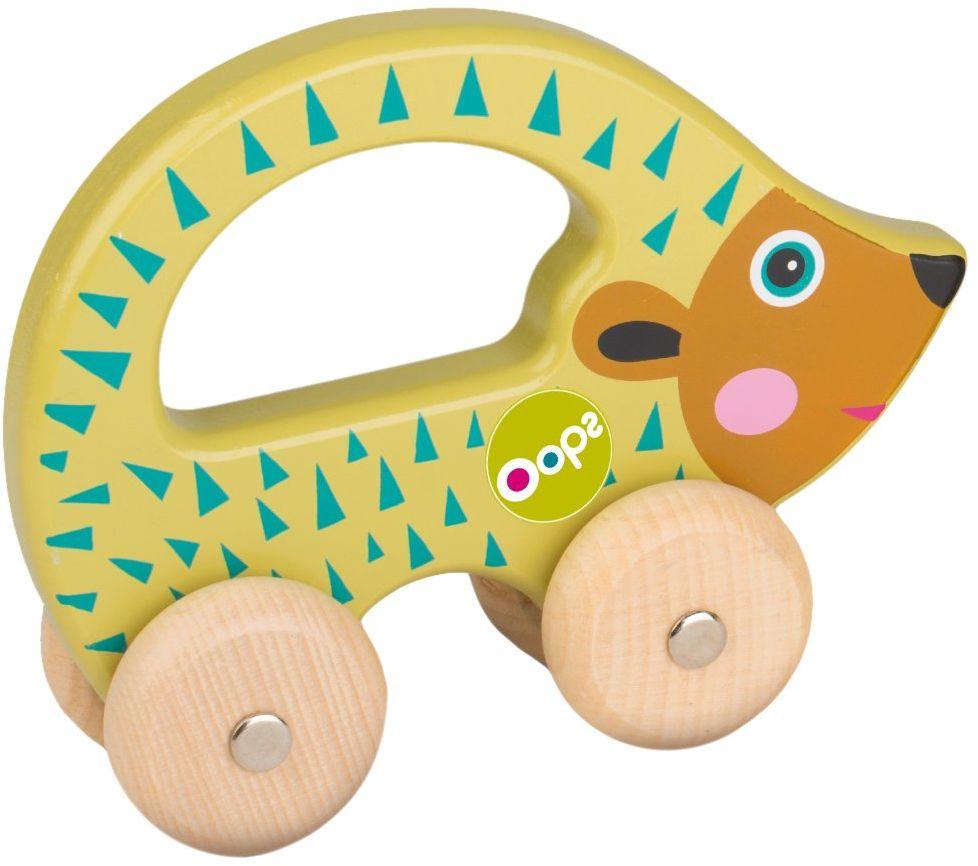 OOPS Łatwe drewniane zabawki kolekcja Easy-Go Pic zabawka do biegania ręcznego