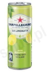 San Pellegrino Limonata - Gazowany napój cytrynowy (330 ml)