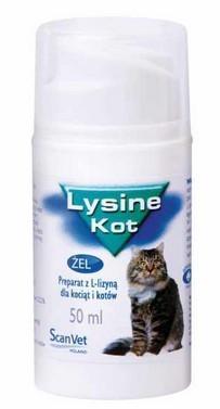Lysine dla kota 50ml żel