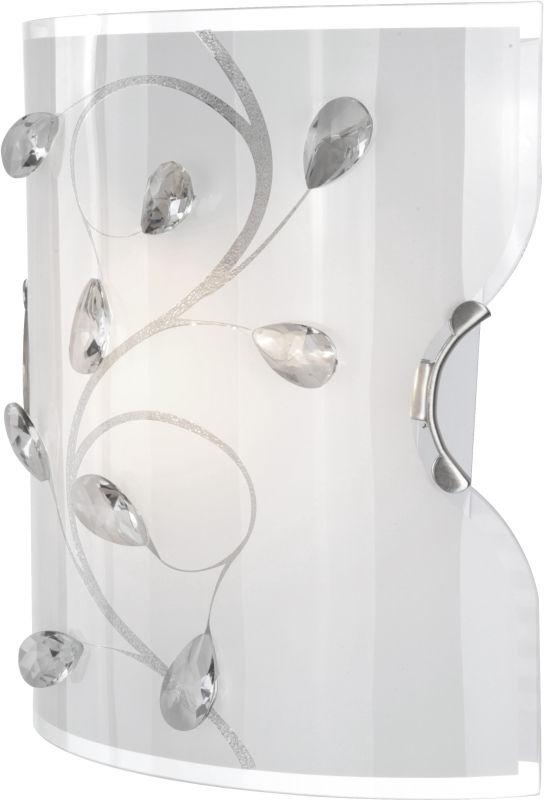 Globo kinkiet lampa ścienna Burgundy 40404W szkło kryształy