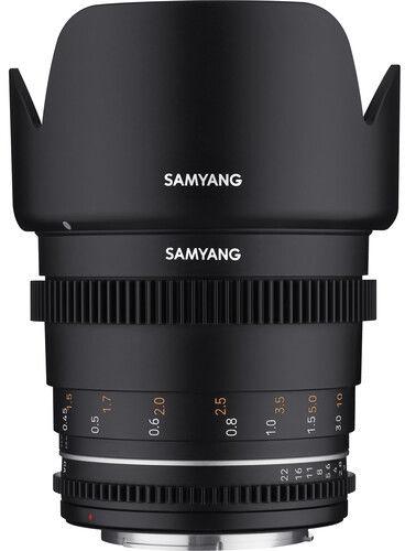 Samyang 50mm T1.5 VDSLR MK2 - obiektyw stałoogniskowy, MFT Samyang 50mm T1.5 VDSLR MK2, MFT