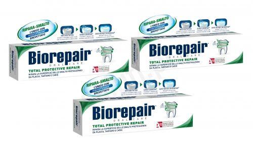 Zestaw Biorepair Pełna Ochrona - Pasta do zębów (3x75ml)